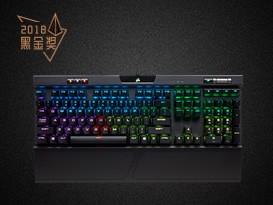 美商海盗船K70 RGB mk.2红轴机械键盘