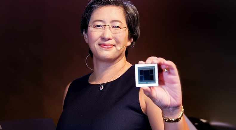 首度公开7nm制程 AMD首发多款重磅级新品