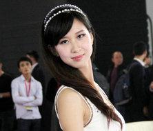 广州汽车电子展美女