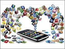 手机应用软件安装比例超九成