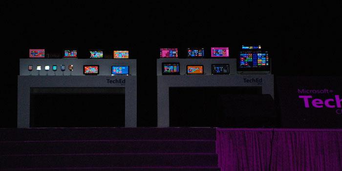TechEd2012微软技术大会设备展示区
