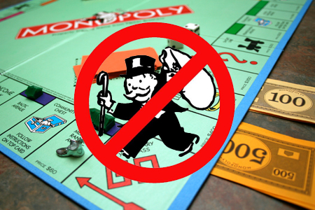 Monopoly:谁动了谁的奶酪?