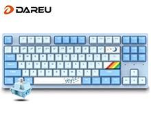 【CJ推荐】达尔优(dareu)A87天空轴机械键盘