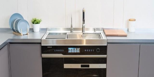 """一站式解决厨房""""净洗""""需求,森歌U8除菌集成洗碗机评测"""