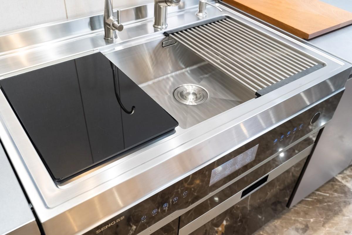 """厨房""""净洗""""颜值担当,森歌U8除菌集成洗碗机图赏"""