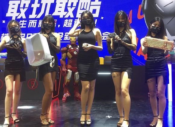 机械师新品强势登陆2021 chinajoy