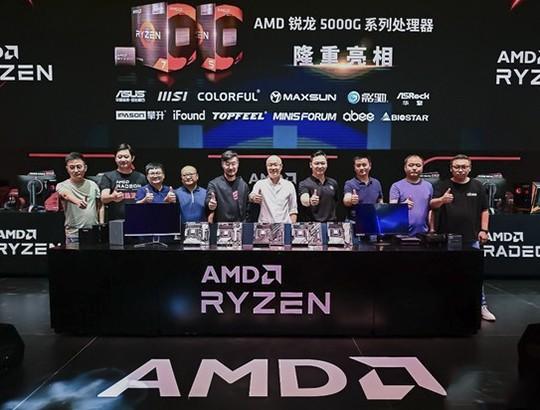AMD携多款游戏神器扬威CJ2021