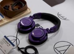 铁三角新品耳机齐聚一堂