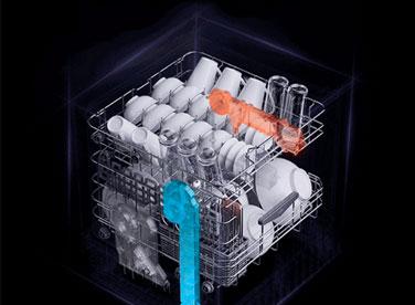 华帝A6干态洗碗机全方位呵护健康