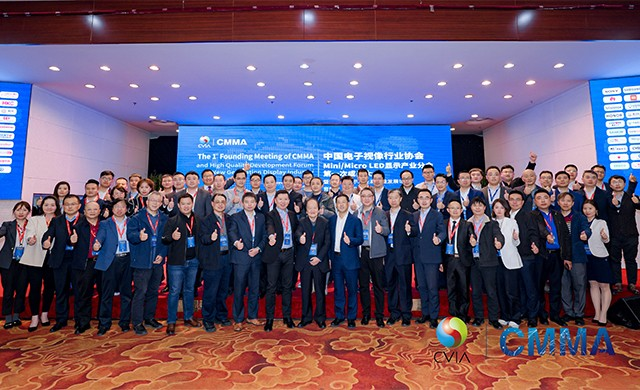 中国电子视像行业协会Mini/Micro LED显示产业分会成功举办