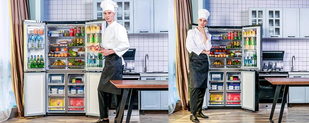 为鼎级食材而生 LG双风系十字门冰箱评测