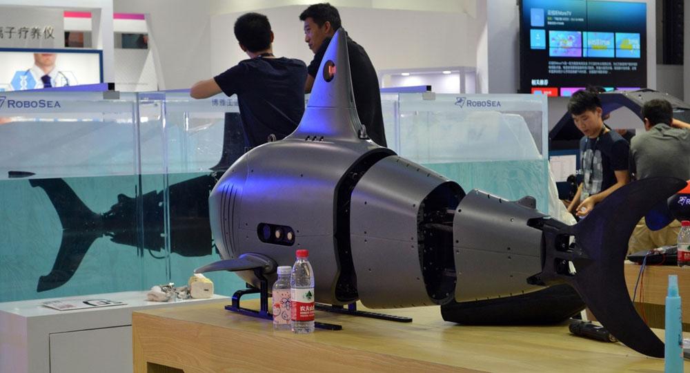 CESA探馆 水下机器人集体亮相明日有看点