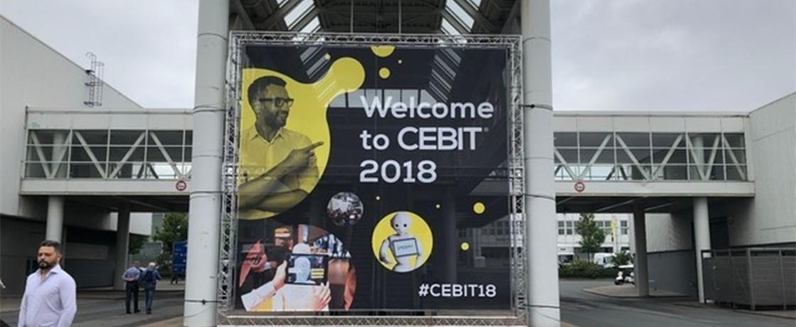 CEBIT 2018 跟着笔者走起!