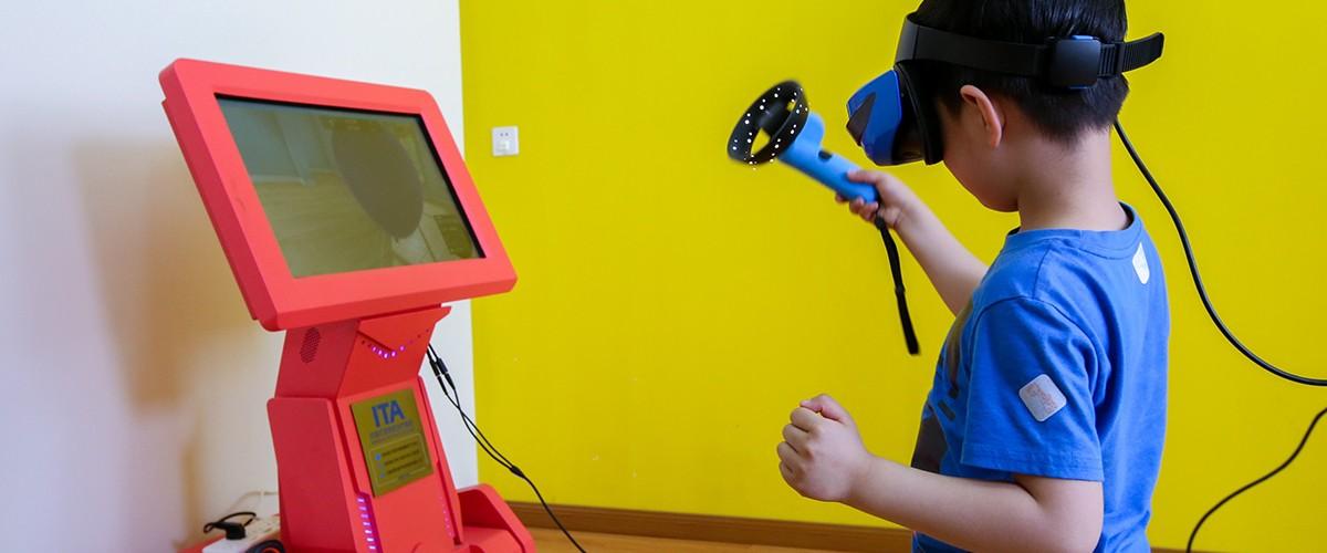 VR/实感 英特尔正用这些技术帮助孤独症儿童