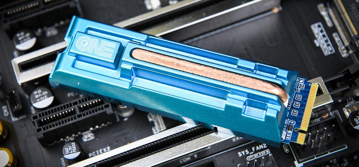 ONE系列首款 影驰ONE M.2 SSD图赏