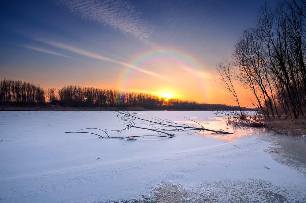 # 风景 # 雪后出晴