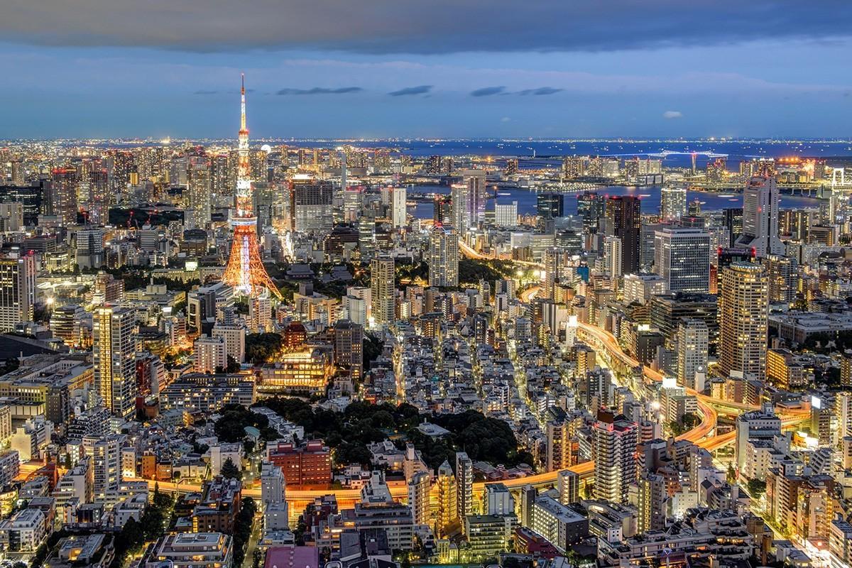 # 三分法构图 # 东京之夜