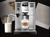 飞利浦家用意式全自动带自动奶泡器咖啡机