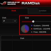 ROG RAMDisk内存虚拟
