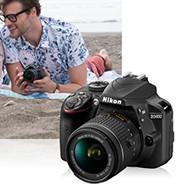 尼康 D3400入门单反相机