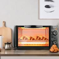 美的(Midea)T1-108B 家用多功能迷你小烤箱 10升家用容量 双层烤位