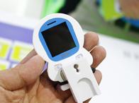 保障老幼安全 中兴安全手机现身通信展