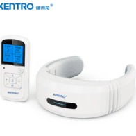 健得龙 KENTRO 颈椎按摩器 KTR-115 智能颈椎按摩仪 电脉冲针灸护颈仪 电极片肩部腰部背部可用 带遥控器