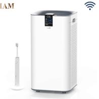IAM空气净化器 除甲醛雾霾细菌病毒 家用办公室负离子KJ780F