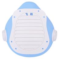 飞指(FZair) 电动口罩 新风智能防雾霾粉尘 硅胶材质可重复用 防飞沫 户外运动 透气 口罩 蓝色大号