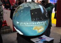 巴可360度球形投影