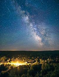 8月12日我们一起看流星