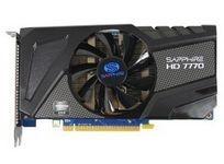 蓝宝石HD7770 1G GDDR5 白金版 OC
