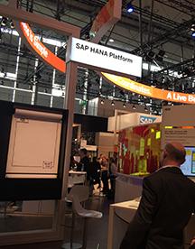 软件巨头SAP 展示合作成果