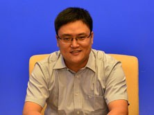 七彩虹集团板卡事业部主板经理 丁雪峰
