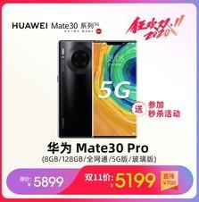 华为 Mate30 Pro(8GB/128GB/全网通/5G版/玻璃版)