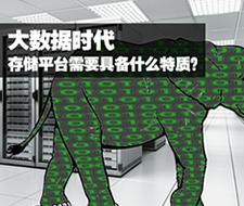 大数据时代存储平台需要具备什么特质?