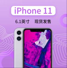 苹果 iPhone 11(4GB/128GB/全网通)