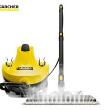 KARCHER卡赫蒸汽拖把 多功能高温蒸汽杀菌清洁机 家用蒸汽拖地机擦地机 吸尘器伴侣 德国凯驰集团CTK10豪华版