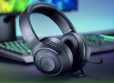 雷蛇北海巨妖标准版X 头戴式游戏耳机 电竞耳麦