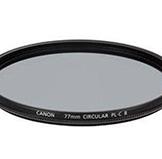 佳能82mm圆形偏光滤镜