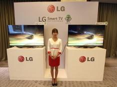 LG 观韵安卓电视嘉年华-产品展示区