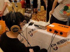 上海熊猫视听展台直击