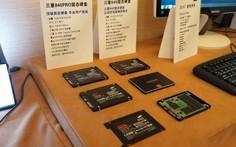三星固态硬盘展示