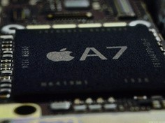 iPhone 5s配64位A7 CPU