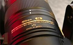 CES 2018 尼康180-400mm镜头抢先看