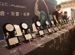 qdc全新1圈4铁耳机降临北京耳机展