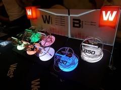全新W、B系列耳机齐聚 威士顿展台引人注目