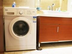 最污洗衣机拆解第一日 锈蚀的滚筒洗衣机