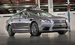 向无人驾驶迈进 丰田发布自动驾驶原型车
