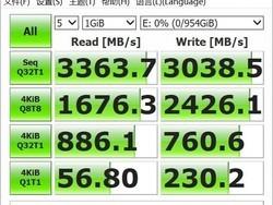 连续读取性能3300MB/S